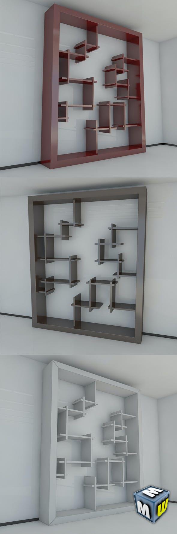 Bookshelf 7 MAX 2011 - 3DOcean Item for Sale