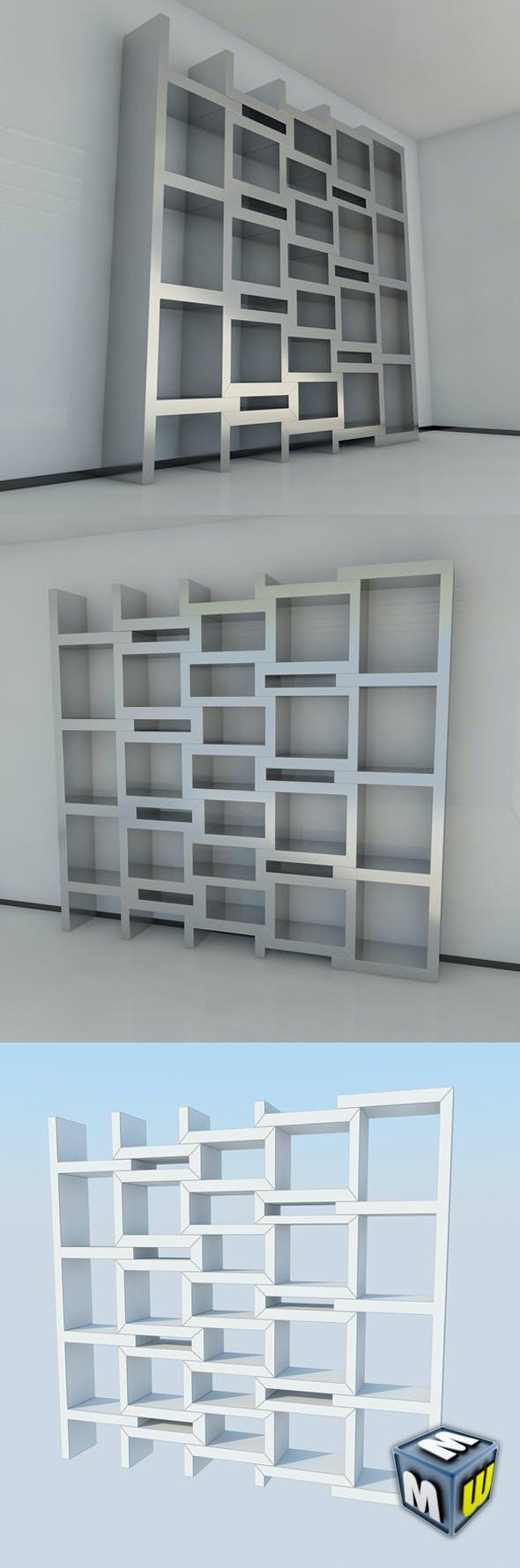 Bookshelf 9 MAX 2011 - 3DOcean Item for Sale