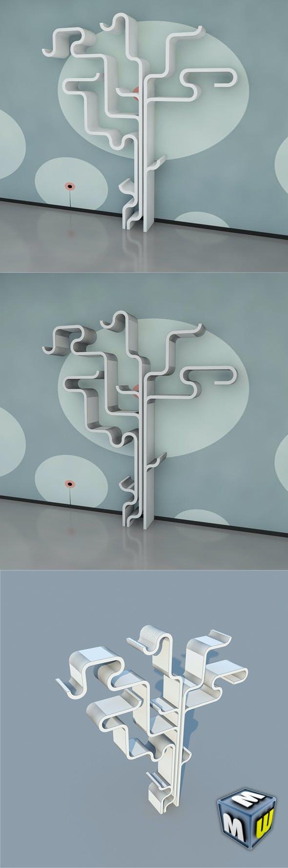 Bookshelf 12 MAX 2011 - 3DOcean Item for Sale