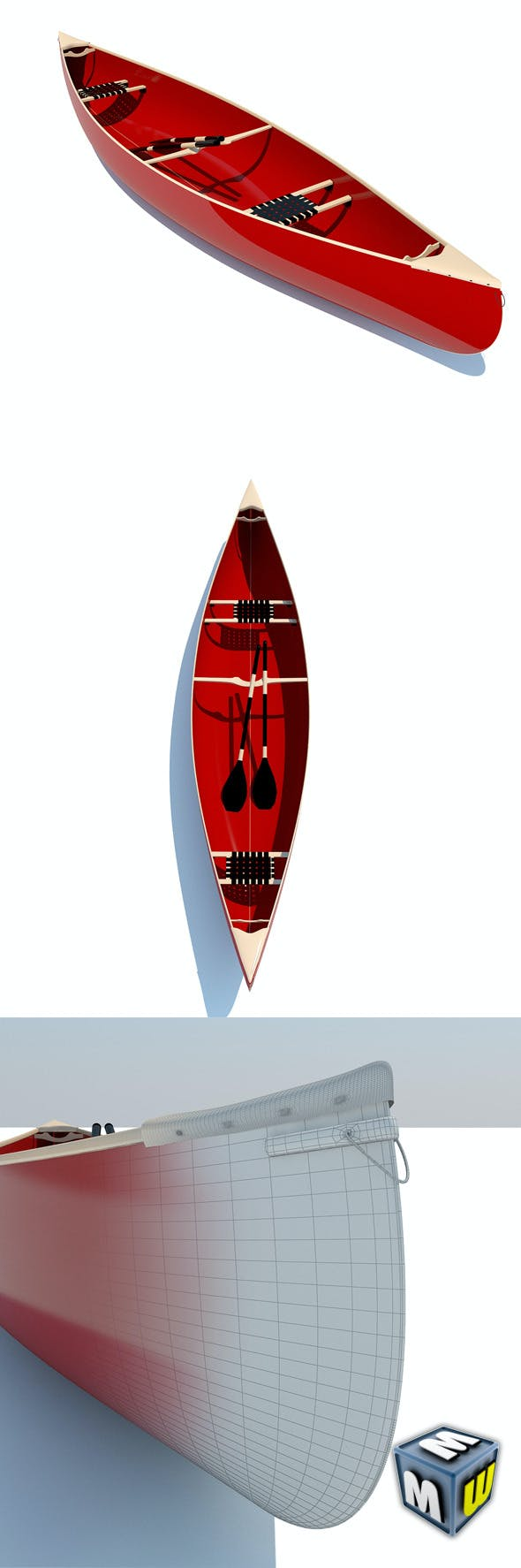 Canoe MAX 2011 - 3DOcean Item for Sale