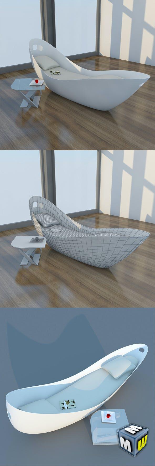 Chaise Lounge Gefeva MAX 2011 - 3DOcean Item for Sale