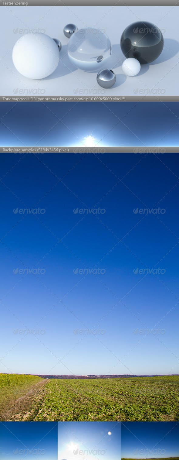 HDRI spherical sky panorama -1144- sunny fall day - 3DOcean Item for Sale