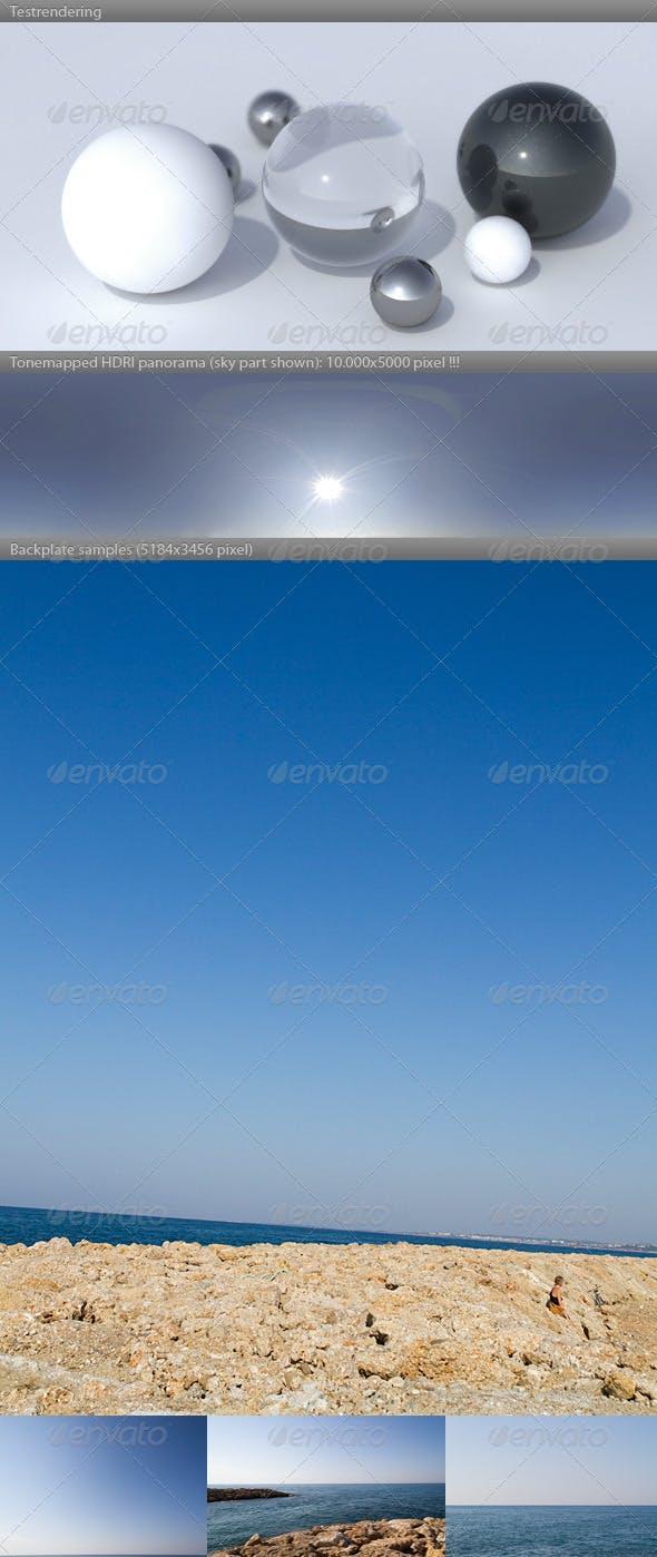 HDRI spherical panorama -0921- summer morning - 3DOcean Item for Sale