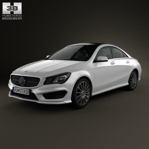 Mercedes-Benz CLA 45 AMG 2013 - 3DOcean Item for Sale