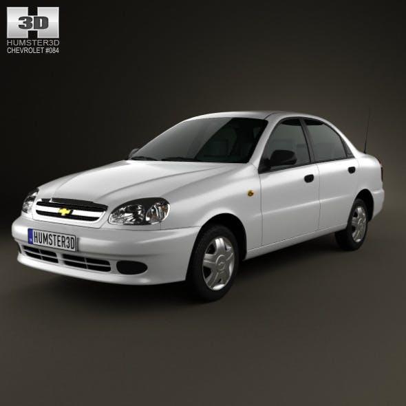 Chevrolet Lanos 2012 - 3DOcean Item for Sale