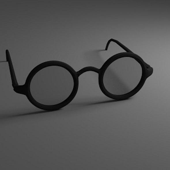 Eye Glasses Version 2 (Low-Poly)