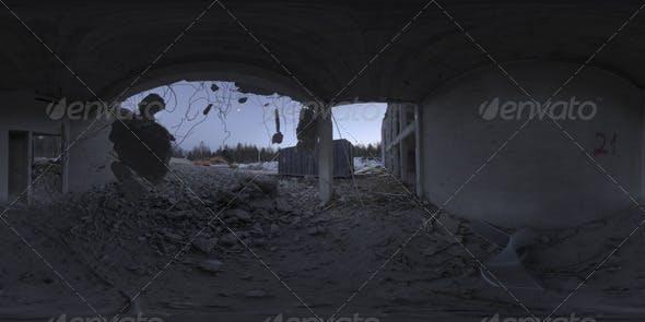 Industrial Area HDRI - Demolition Site II - 3DOcean Item for Sale