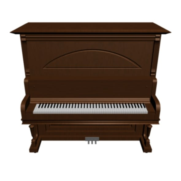 classic piano with texture