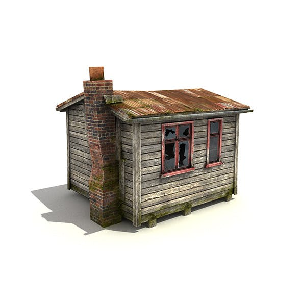 Small Wooden Building - 3DOcean Item for Sale