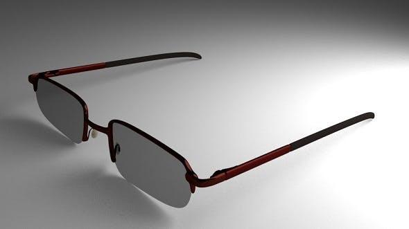 Eye Glasses Version 3 (High-Poly) - 3DOcean Item for Sale