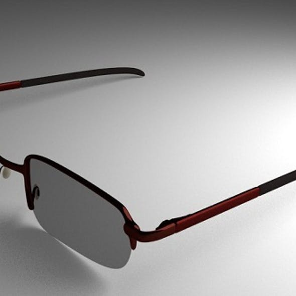 Eye Glasses Version 3 (High-Poly)