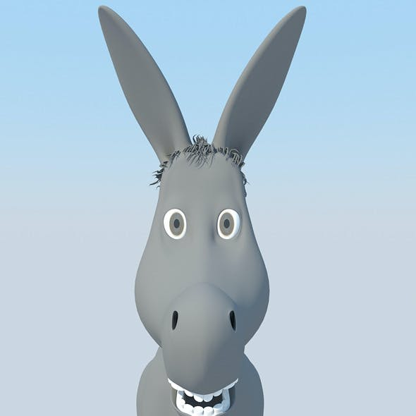 Donkey Cartoon MAX 2011