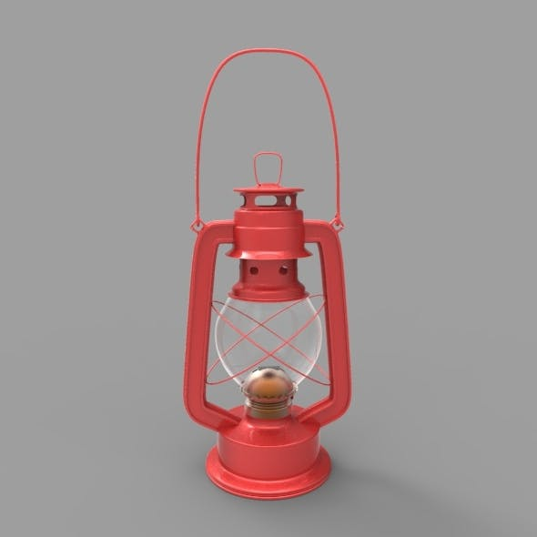 Old Gas - Oil Lamp 3 - 3DOcean Item for Sale