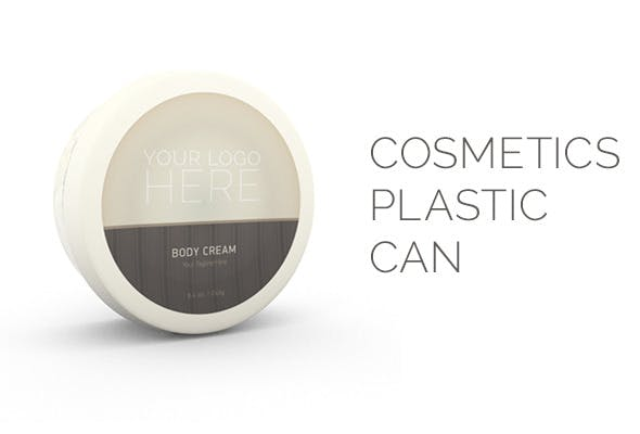 Cosmetics Plastic Can - 3DOcean Item for Sale