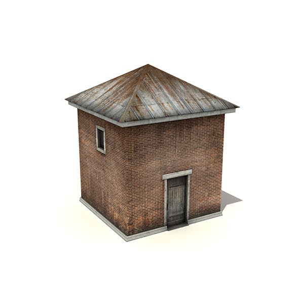 Small Industrial Building - 3DOcean Item for Sale