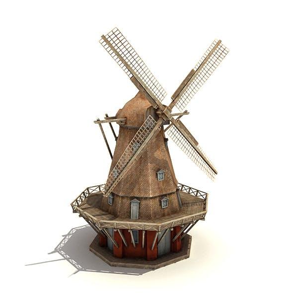 Big Copenhagen Windmill - 3DOcean Item for Sale
