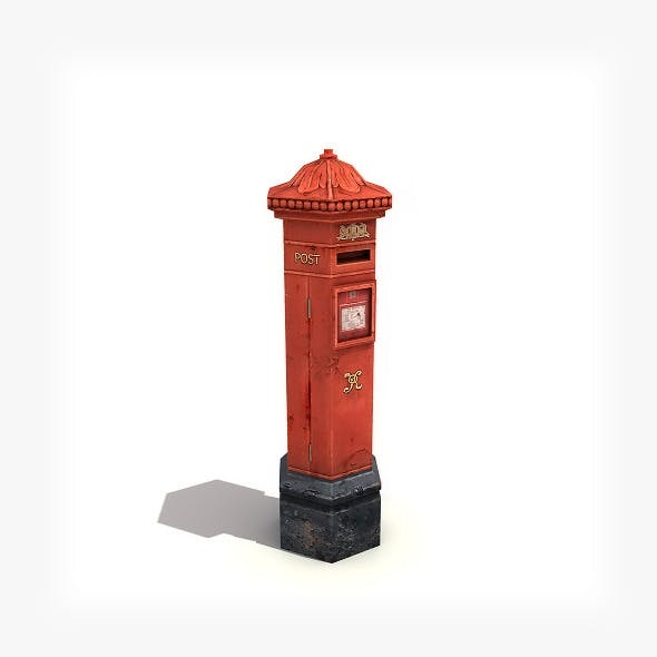 Post Box - 3DOcean Item for Sale
