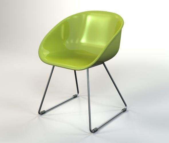 Plastic Chair - 3DOcean Item for Sale