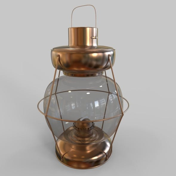 Old Gas – Oil Lamp 4