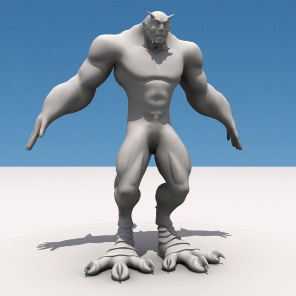 Monster Man - 3DOcean Item for Sale