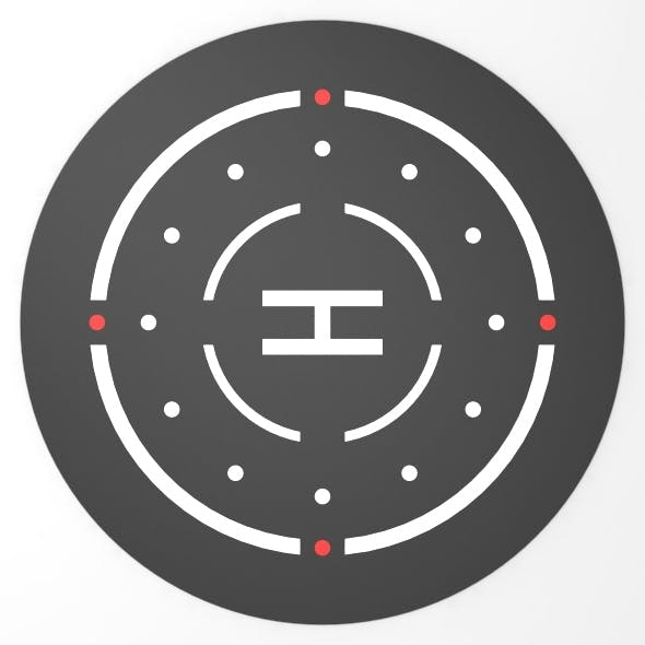 Helipad 3D Landing Zone 3 - 3DOcean Item for Sale