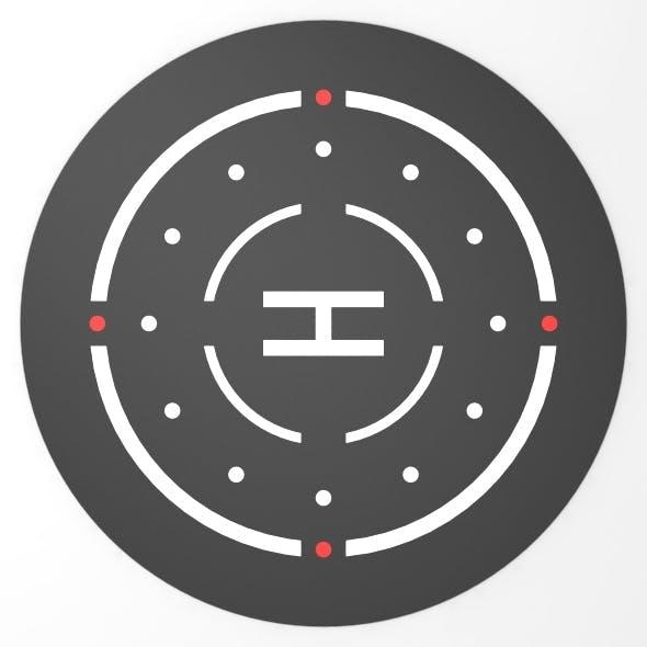 Helipad 3D Landing Zone 3