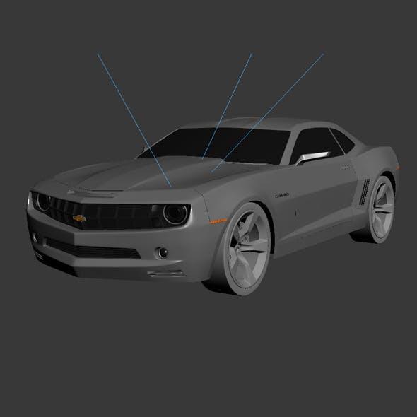 Camaro  - 3DOcean Item for Sale