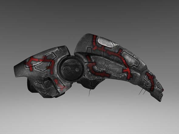 Alien Spaceship - 3DOcean Item for Sale