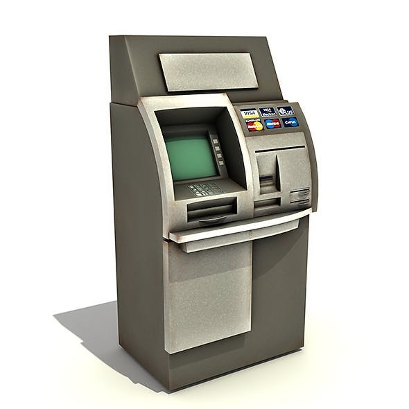 Automated Teller Machine (ATM) - 3DOcean Item for Sale