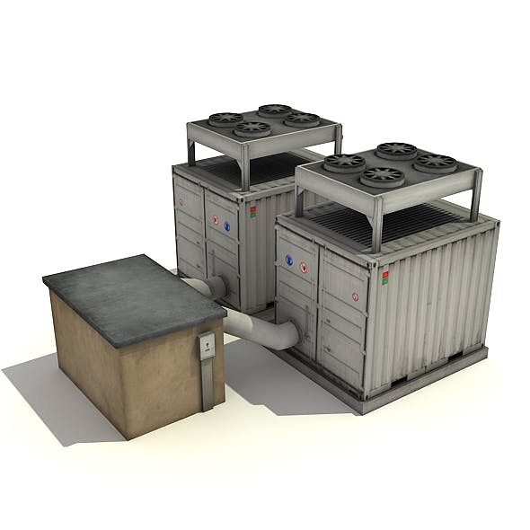 Cooling Units - 3DOcean Item for Sale