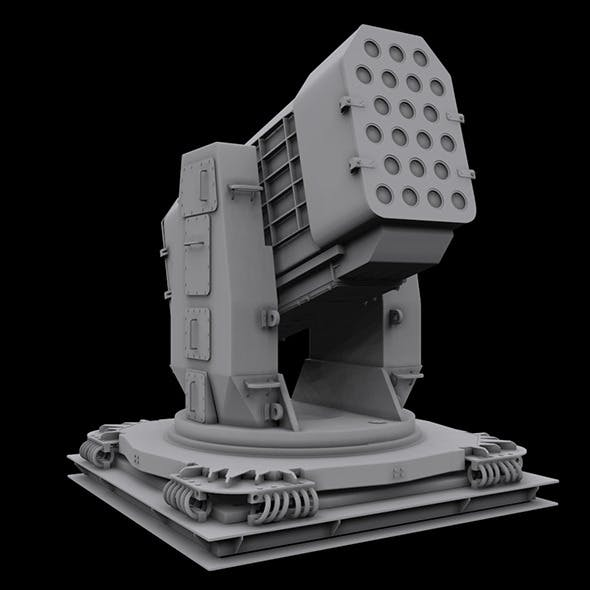 Airframe Missile Launcher (High poly)