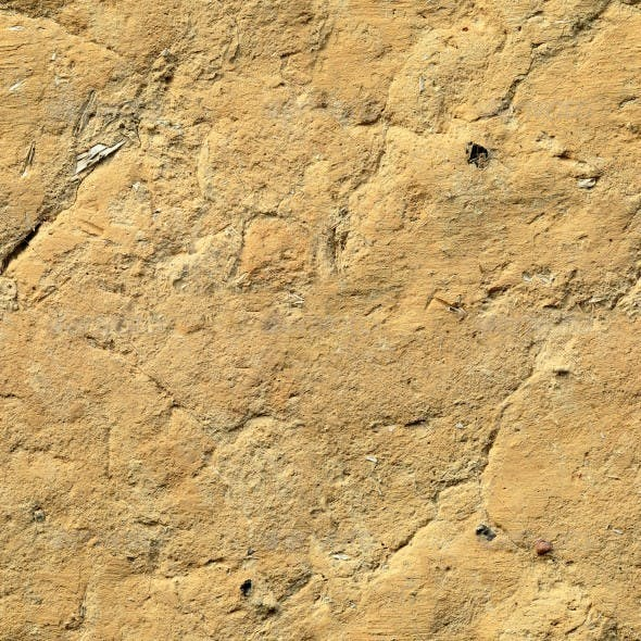 Clay Wall Texture - 3DOcean Item for Sale