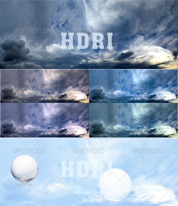 Cloudy sky - 3DOcean Item for Sale