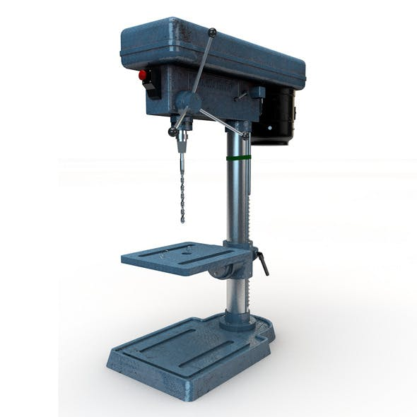 Table Drill - 3DOcean Item for Sale