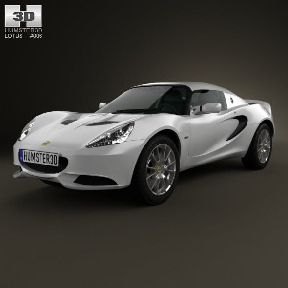 Lotus Elise S 2012 - 3DOcean Item for Sale