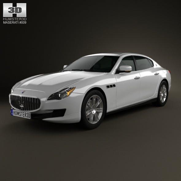 Maserati Quattroporte 2013 - 3DOcean Item for Sale