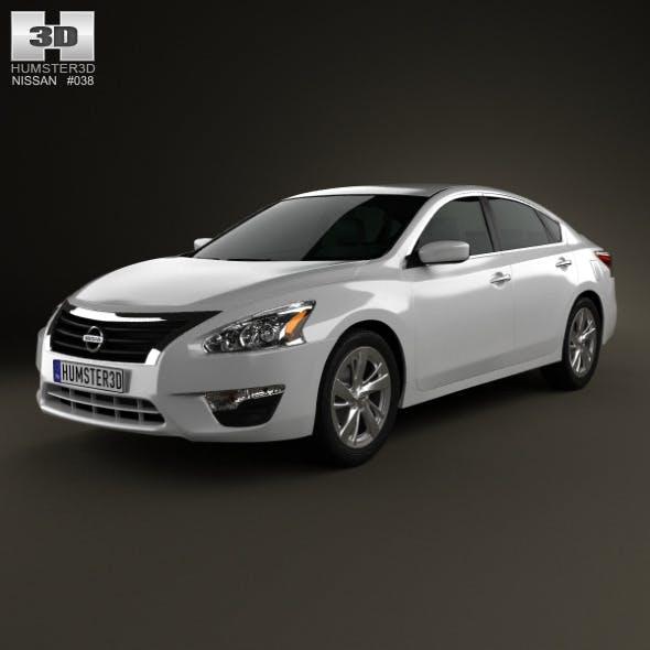 Nissan Altima 2013 - 3DOcean Item for Sale