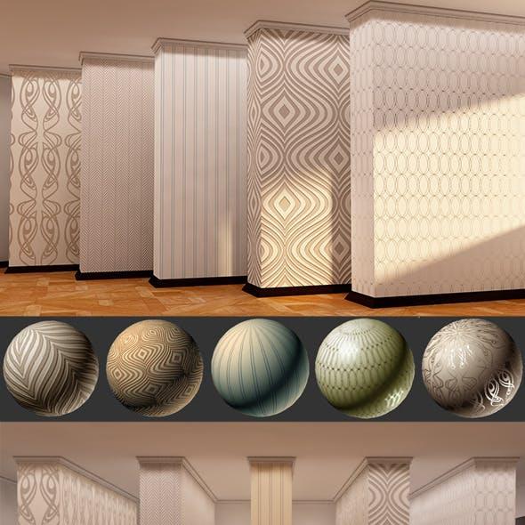 5 Popular Interior Wallpapers - Vray Mats