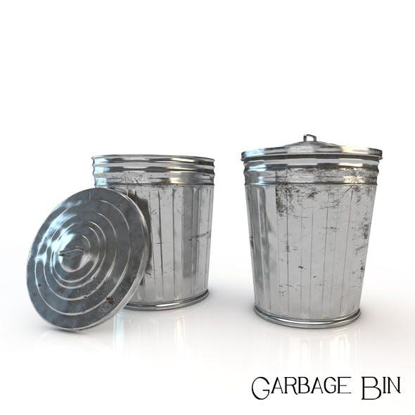 Garbage Bin - 3DOcean Item for Sale
