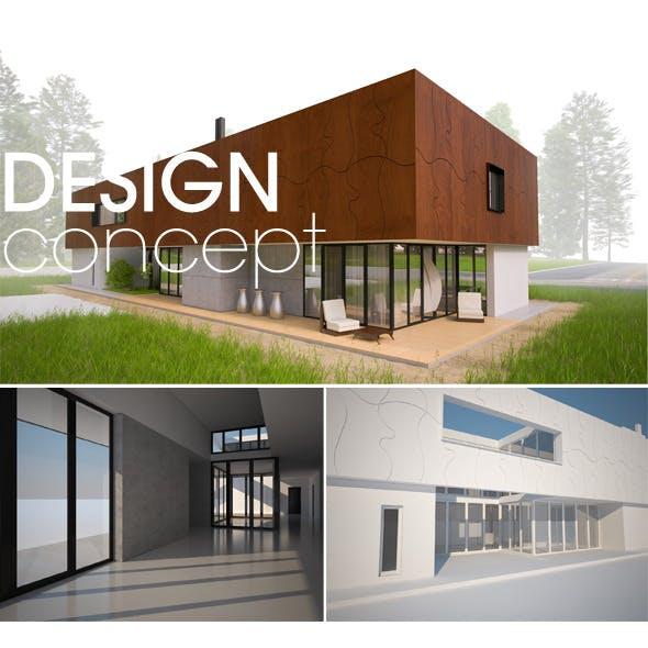 Contemporary Modern House Concept
