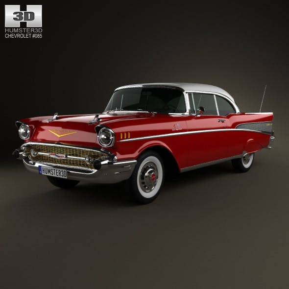 Chevrolet Bel Air Sport Coupe 1957 - 3DOcean Item for Sale