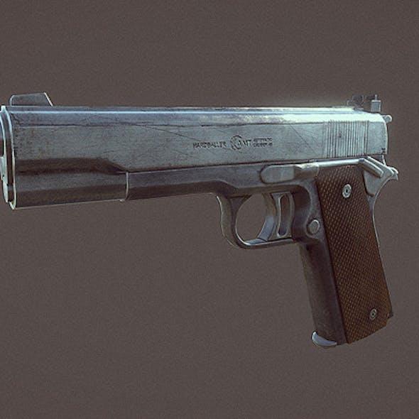 AMT Hardballer Handgun
