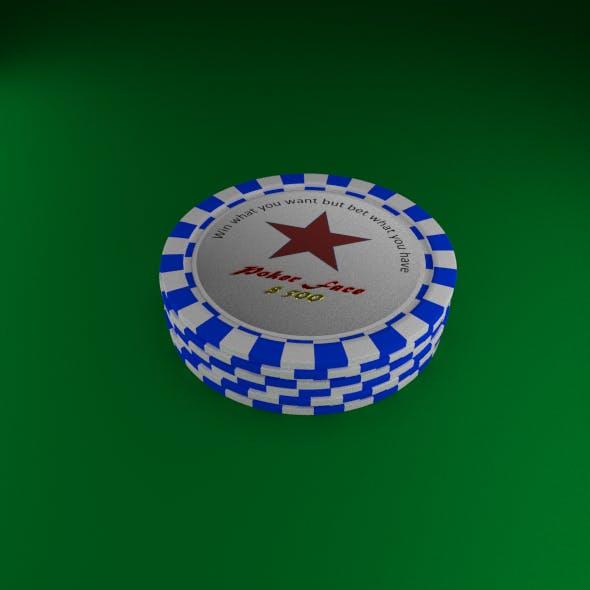 Poker Star Chips Set