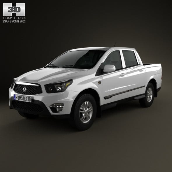 SsangYong Korando Sports (New Actyon) 2012 - 3DOcean Item for Sale