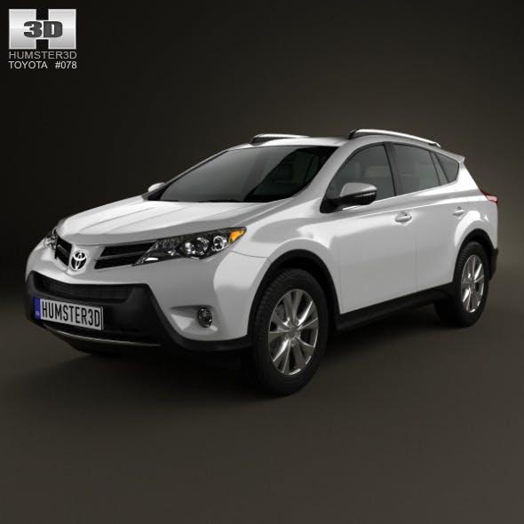 Toyota RAV4 2013 - 3DOcean Item for Sale
