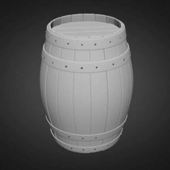 Barrel (High Poly)