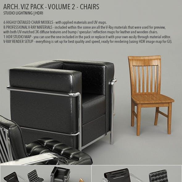 Arch Viz Pack Volume 2 - Chairs