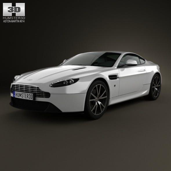 Aston Martin V8 Vantage 2012 - 3DOcean Item for Sale