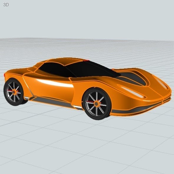 Toy Car 3D Models from 3DOcean