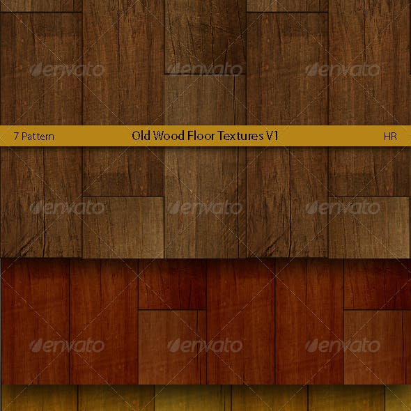 Old Wood Floor Surface Textures